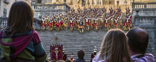 Semana Santa Girona. Foto gracias a es.costabrava.org